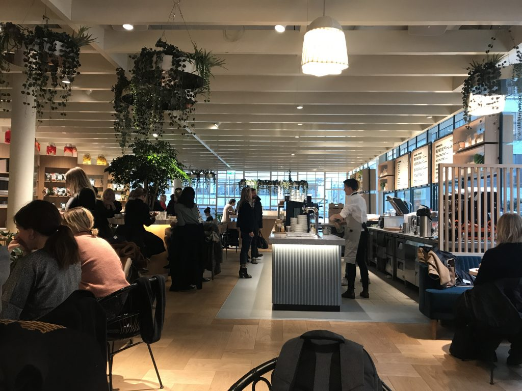 Cafe at H&M Headquarters