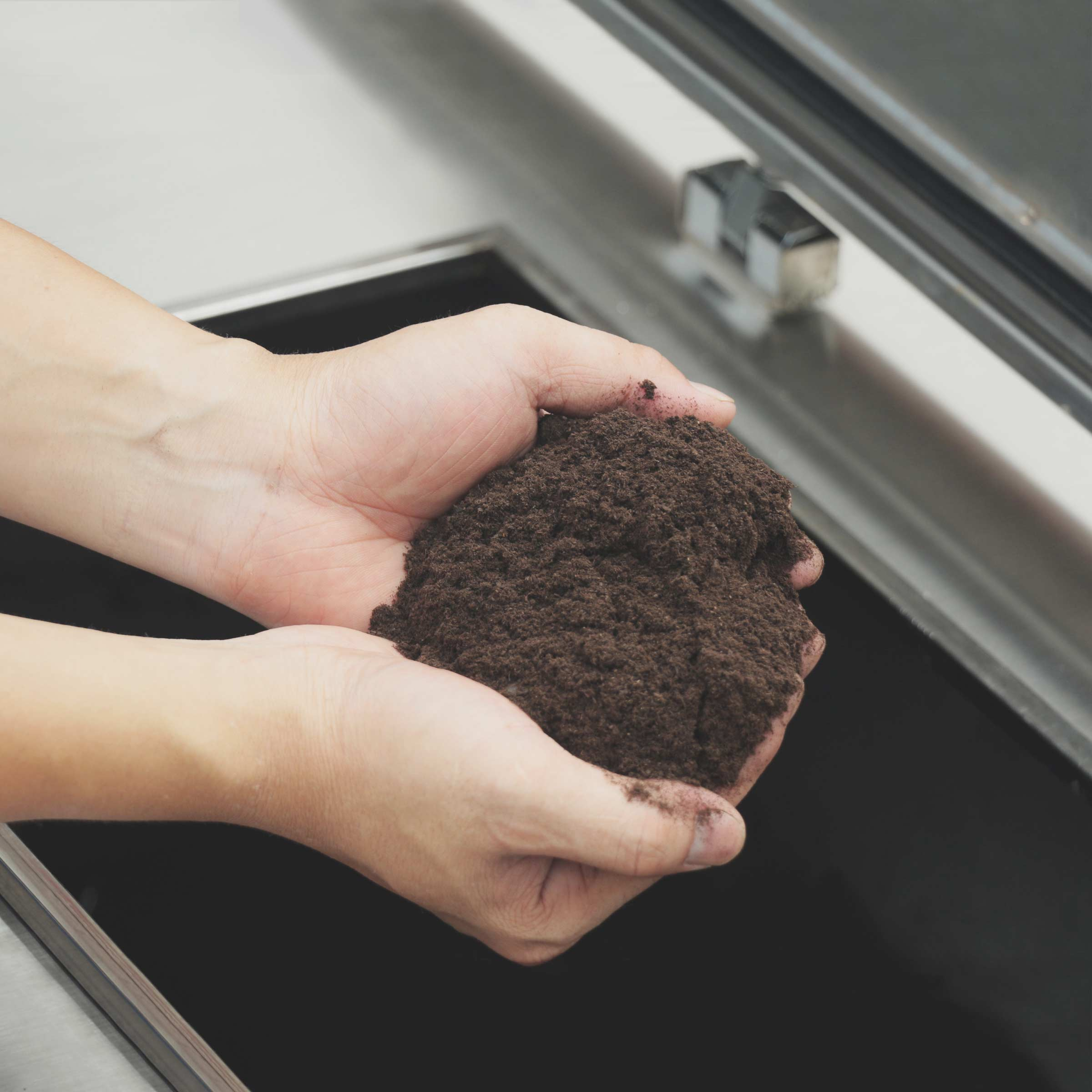 organic waste composter machine for home kitchens | by Oklin